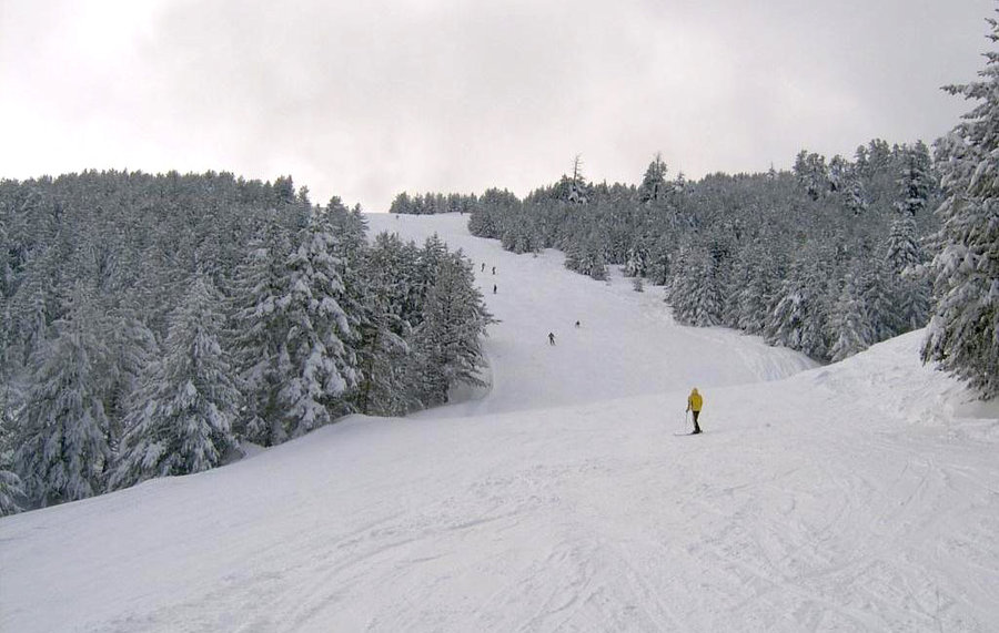ски писти в село Гела