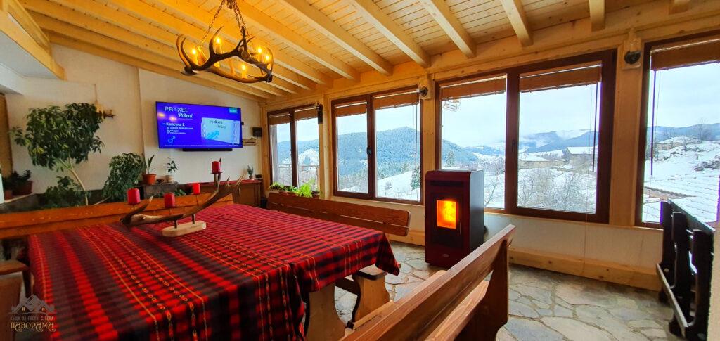 Гела, къща за гости, механа, Панорама